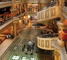 The Forum Shops at Cesar's Palace by Mike  Savad