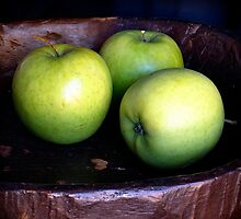 All my apples in one basket by Talisencat