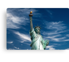 Statue of Liberty, New York, USA Canvas Print