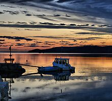 Sunset Shag Bay by HighHeadArtwork