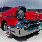 57 Chevy Belair  by JimGuy
