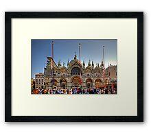 Saint Mark's Basilica Framed Print