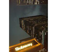 NYC Time Line Photographic Print