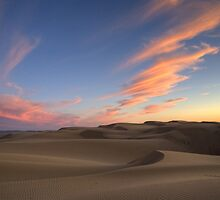 Sunset Over Oceano Dunes by Cathy L. Gregg