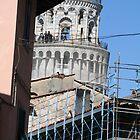 Pisa being refurbished. by Anna Goodchild