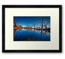 Noora Basin Dawn Framed Print