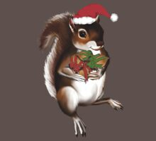 Yule Tide Squirrel by Lotacats