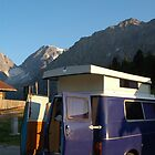 Campervan in Austria by Hadleigh Thompson
