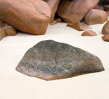 Rocky Beach by Walter Quirtmair
