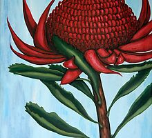 WARATAH by margaret walsh