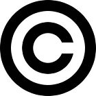 Copyright symbol by Kinnally