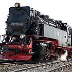 A steam locomotive of German railways. by trainmaniac