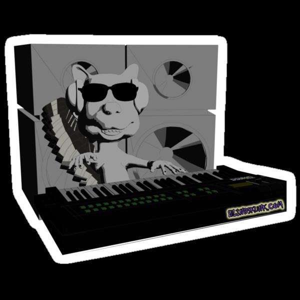 Blindskunk - At the Keyboard by blindskunk