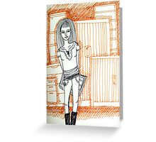 *not so* Tiny Diary: Furniture Audit Greeting Card