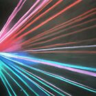 Vertical Laser Light by Rebecca Hearl