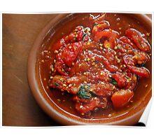 Tomato Sambal Poster