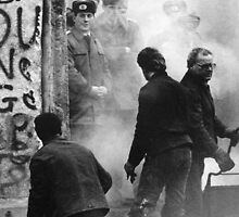 Dec. 24 1989 Fall of the Wall Berlin by Llanrwst