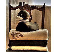 Bathtime Buddy  Photographic Print