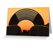 The Overpass  Greeting Card