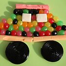 Candy car by KERES Jasminka