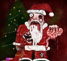 Zombie Santa by mdkgraphics