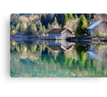 Lake Walchensee Reflections Canvas Print