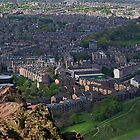 Edinburgh from Arthur's Seat by Andy Grant