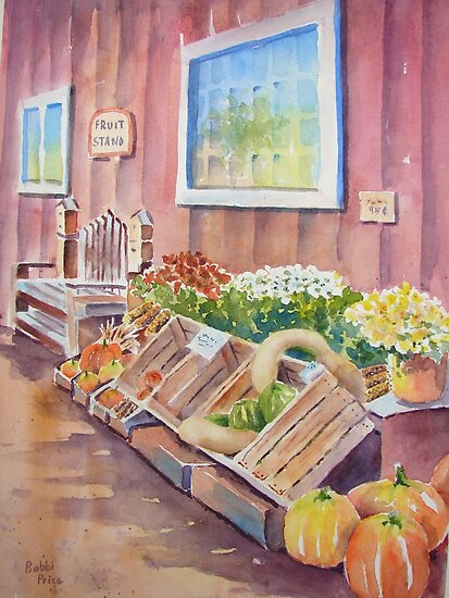 The Fruit Stand by Bobbi Price