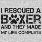 I rescued a boxer by boxerportraits