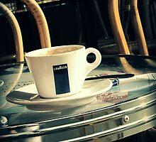Coffee in Montmartre by Caroline Fournier