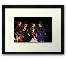 celebs of holloween  Framed Print