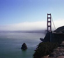 Golden Gate bridge by Maggie Hegarty