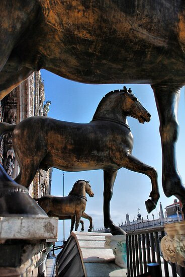 Horses at St Mark&#x27;s Basilica by andreisky