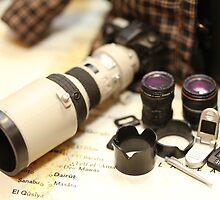 War Journalist Figurine - Photography gears II by adpixels