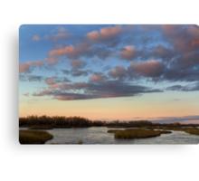 Platte River at Twilight Canvas Print