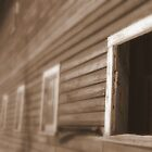 Barn window with no glass by PhotoCrazy6