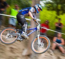 Downhill Mountain Biking - NZ Nationals by Chris Brown