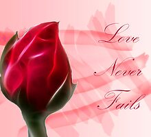 Love Never Fails by George Lenz