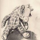 Plush giraffe named Sloppy Balls. by Unperfect