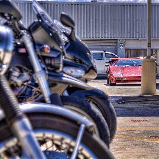 Bokeh Bikes by Tony Burton