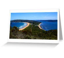 Tombolo - Palm Beach - Sydney - Australia Greeting Card