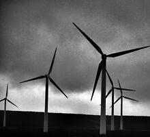 Wind Farm by Lindamell