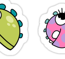 Baby Monsters - The Whole Family Sticker
