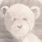 teddy bear in pencil by Unperfect