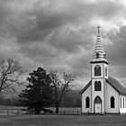 White Country Church by Mark Van Scyoc