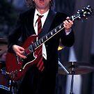 Angus Young AC/DC by Jonathan  Green