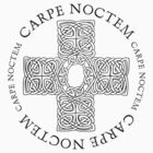 Carpe Noctem Celtic Cross by Zehda