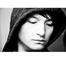 Hooded Emotion Photographic Print