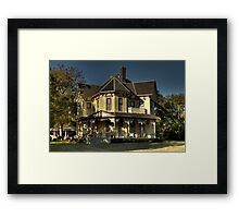 The Yellow Castle (Gingerbread House Series) Framed Print