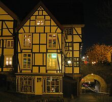 Half Timbered Houses by Detlef Becher